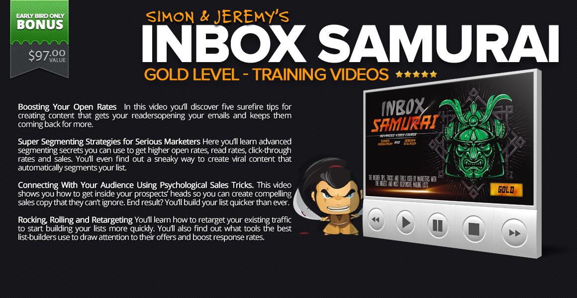 INBOX SAMURAI GOLD
