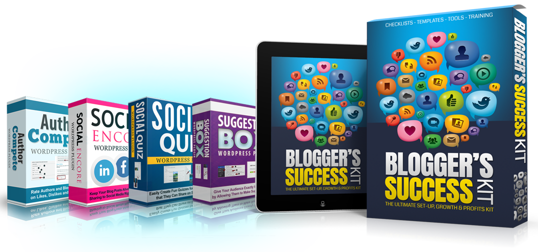 The Blogger's Success Kit
